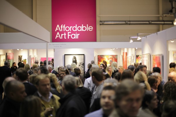 Affordable Art Fair: Messeimpressionen 2014