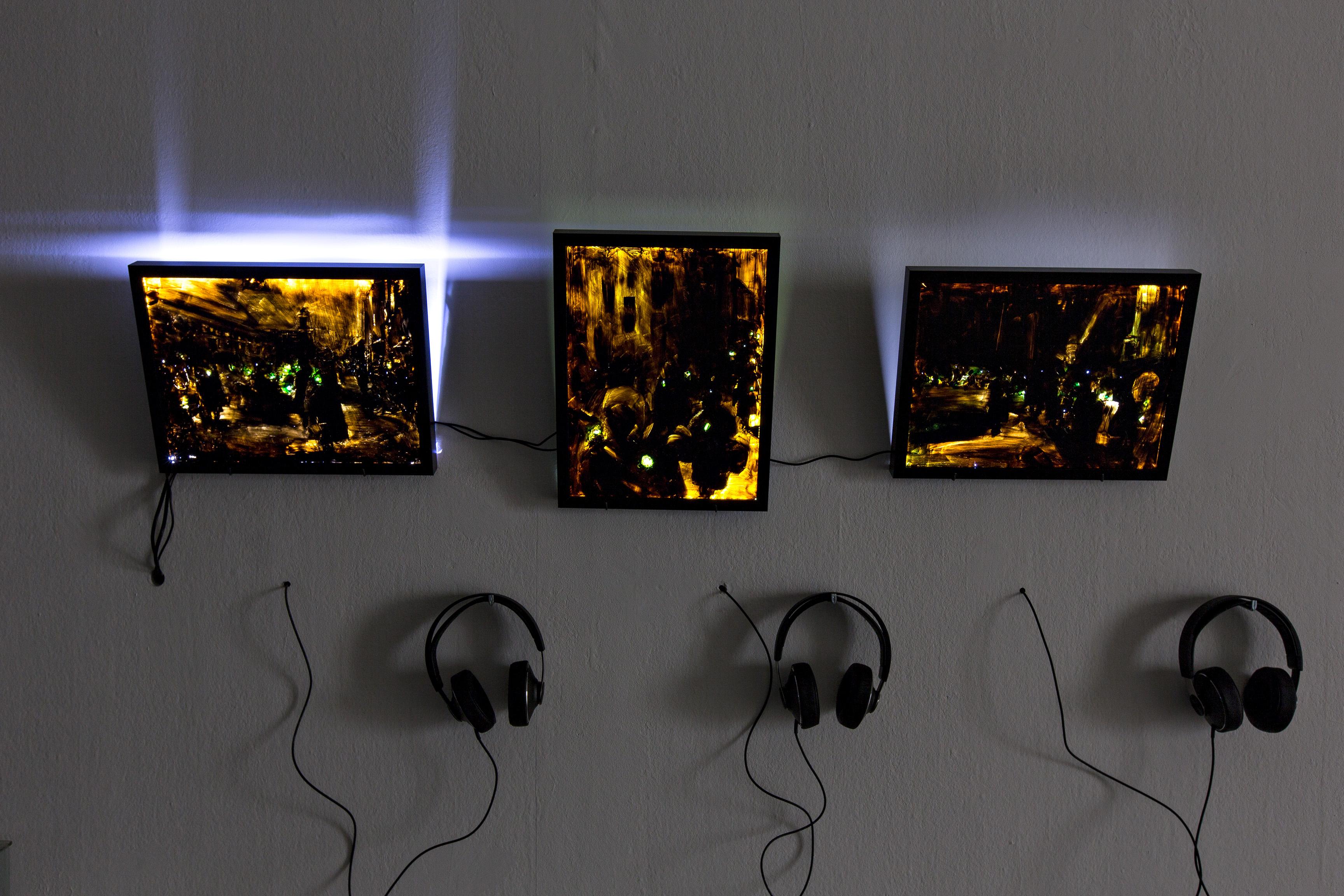 """DEU, Hamburg, """"900 und etwa 26000 Tage"""" Ausstellung im Kunstverein Hamburg, 2015, Copyright photo: Fred Dott"""