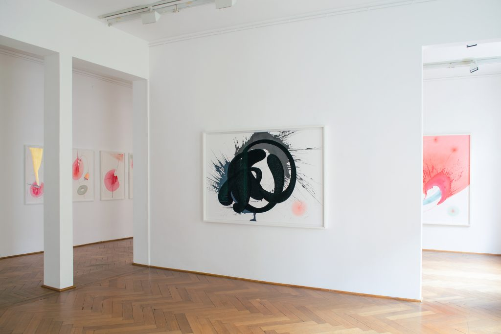 Ausstellungsansicht: Jorinde Voigt, NOW, Galerie Klüser