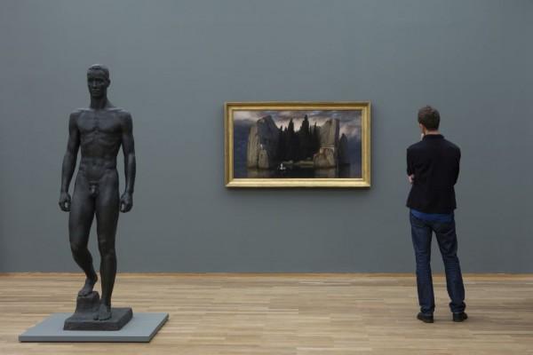"""""""Die schwarzen Jahre, Geschichte einer Sammlung, 1933-1945, Neue Galerie, Hamburger Bahnhof - Museum für Gegenwart - Berlin,"""