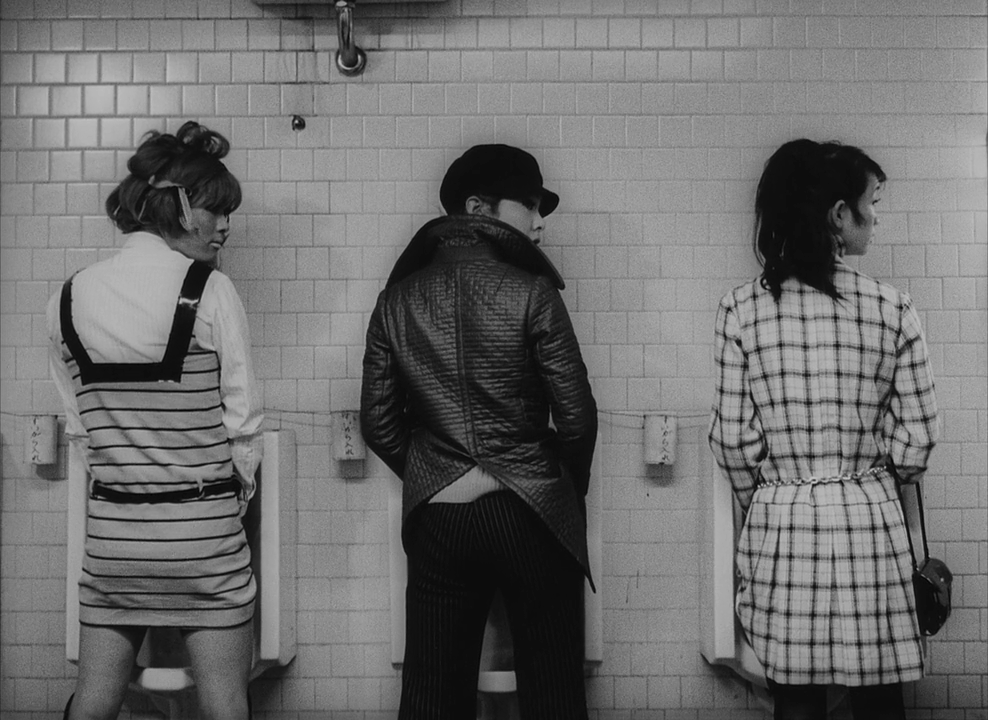 Toshio Matsumoto, Funeral Parade of Roses, (In Transit: Movie Night I), © Toshio Matsumoto.
