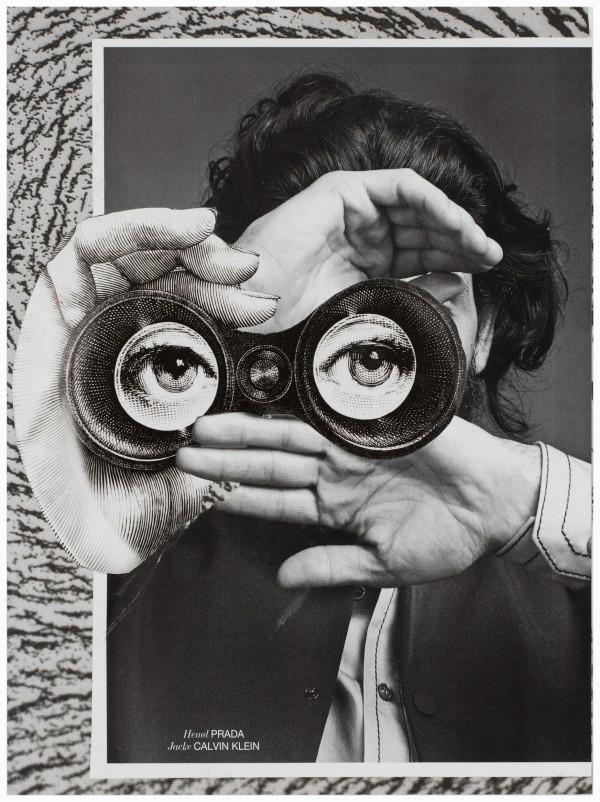 Claus Clément: Ohne Titel, 2014, Collage. Fotograf: Hannes Cunze.
