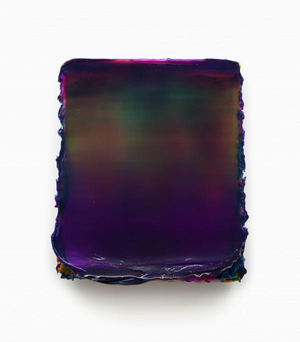 """Lev Khesin """"Isse"""", 65 x 57,5 cm, Silikon und Pigmente auf Träger, 2015"""