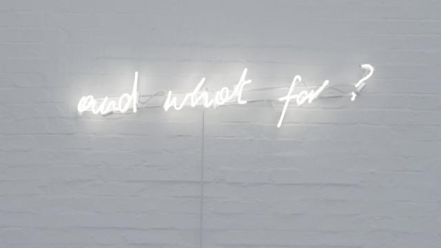 Maria Anwander, Neon Courtesy of the artist