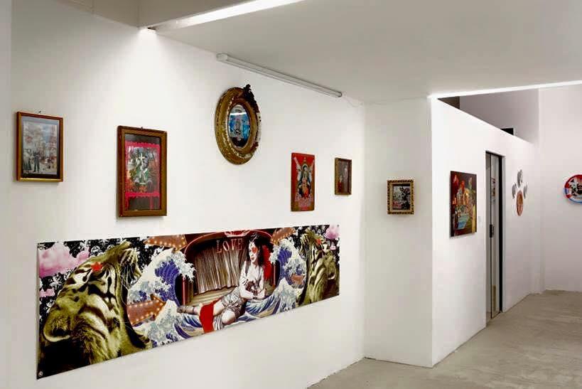 Ausstellungsansicht. Copyright of Gallery Ernst Hilger/Katharina Stögmüller.