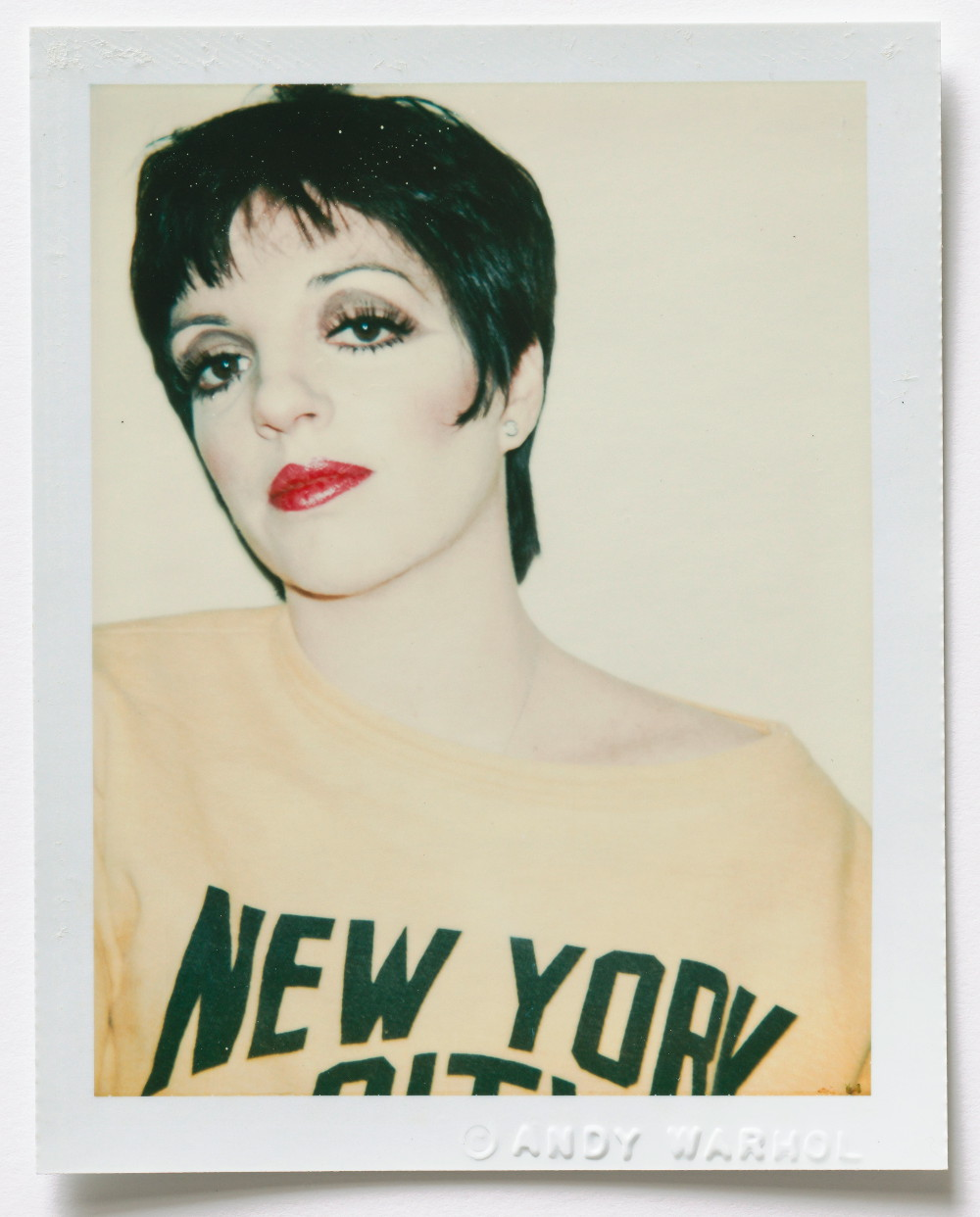 "Andy Warhol ""Liza Minelli"". © 2016 The Andy Warhol Foundation for the Visual Arts, Inc. / Artists Rights Society (ARS), New York, Courtesy Galerie Bastian, Berlin."