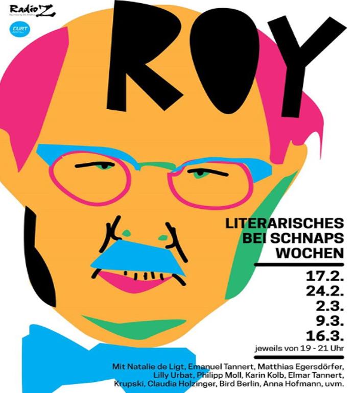 Susanne Wohlfahrt: ROY - Literarisches bei Schnaps