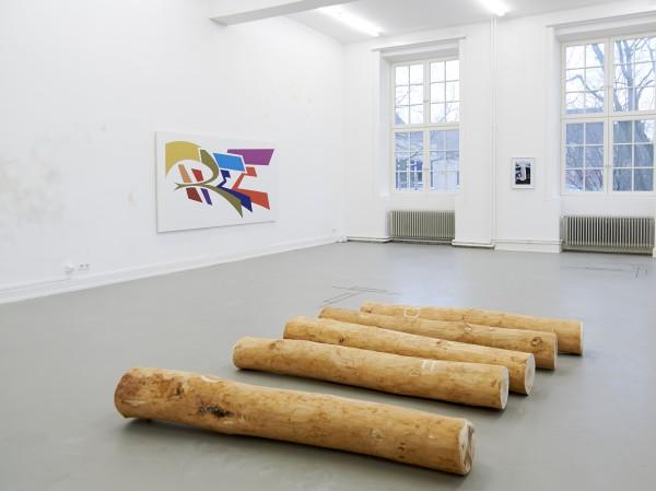Blick in die Jahresausstellung: Arbeiten in der Klasse von Thomas Demand. Foto: Tim Albrech
