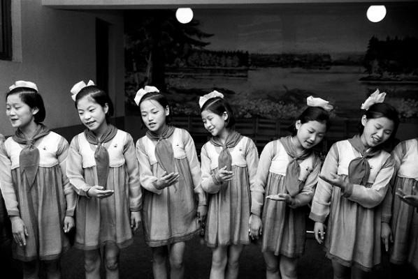 Pjöngjang, Nordkorea, 1978 © Hiroji Kubota/Magnum Photos