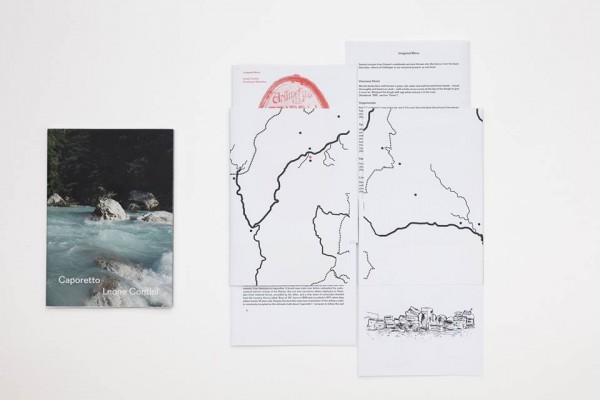 "Bild: Ausschnitte aus dem Buch ""Caporetto"" von Leone Contini, Foto: Thomas Splett"