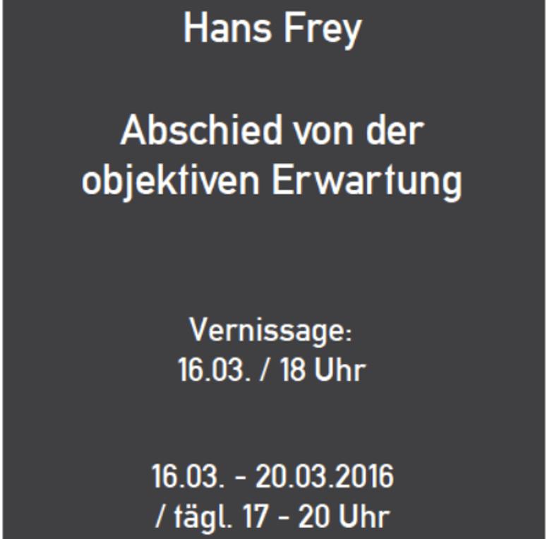 Hans Frey im Edel Extra