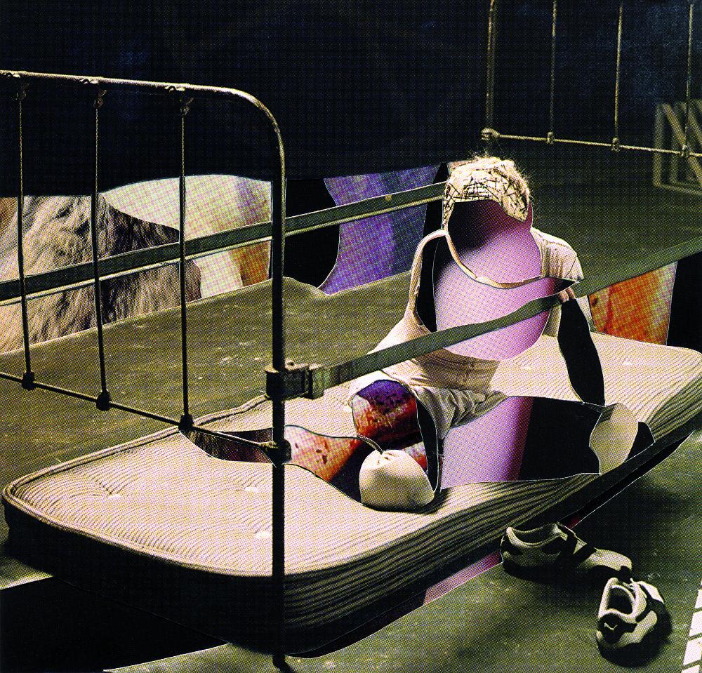 Heidi Sill, Cut #21, 2005, Courtey Kunstraum Kreuzberg/Bethanien.