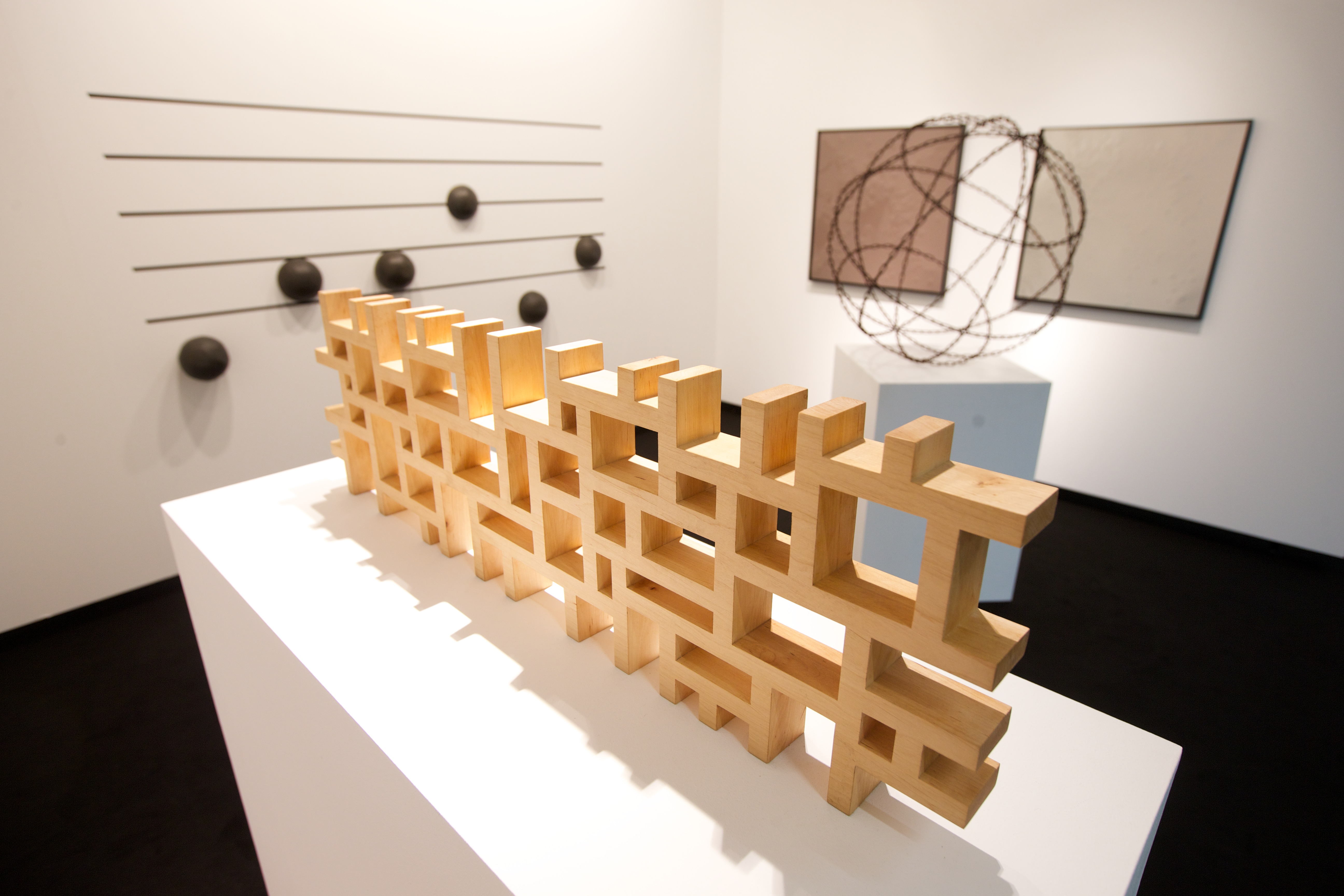 Neuerwerbungen der Art Collection Telekom auf der 50. ART COLOGNE 2016. Foto: Deutsche Telekom