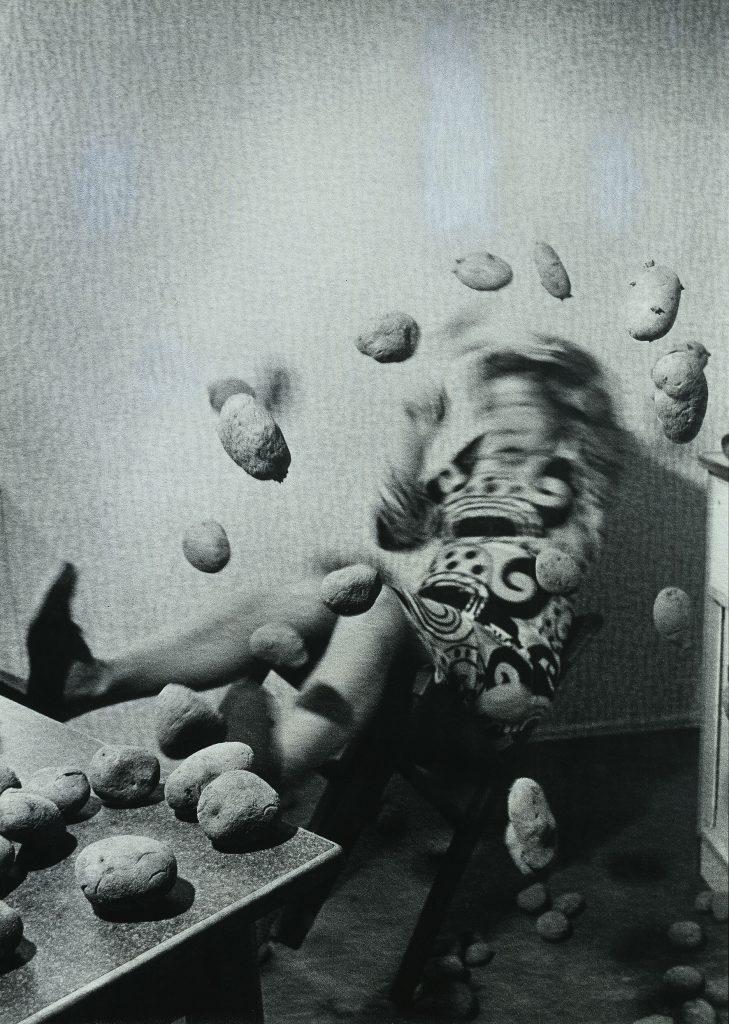 Anna und Bernhard Blume Küchenkoller, 1986 Fotografie, 5-teilig, je 126 x 91 cm Hamburger Kunsthalle © VG Bild-Kunst, Bonn 2015 Foto: Elke Walford