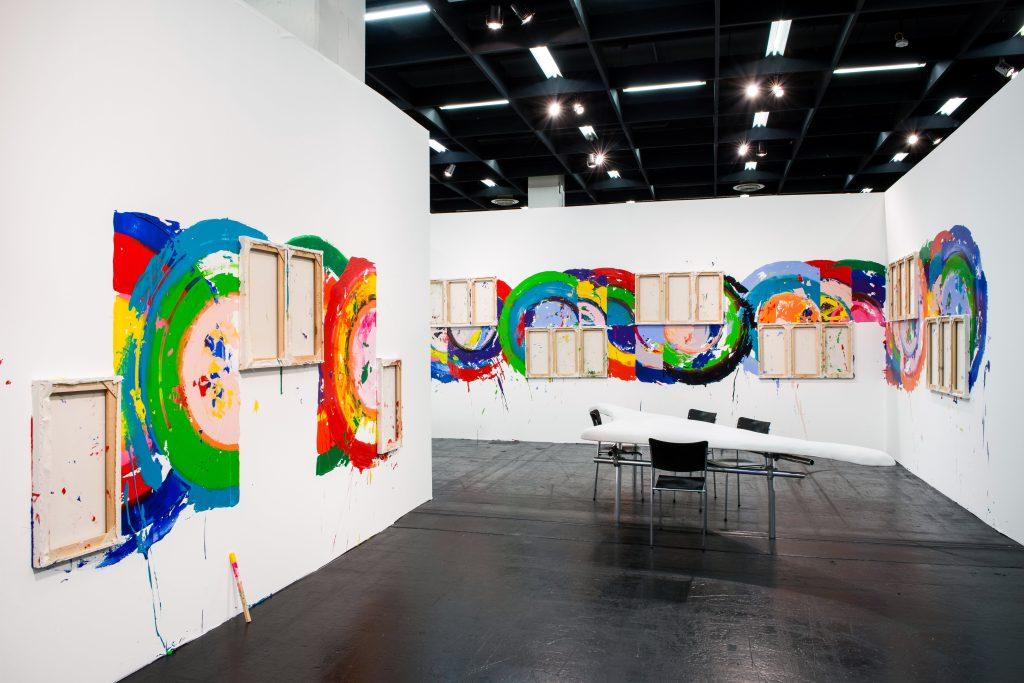 Richard Jackson @ Hauser & Wirth at Art Cologne 2016 . Photo: Frank Jankowski.