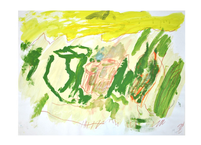 Per Krikeby: Ohne Titel, Galerie Fred Jahn