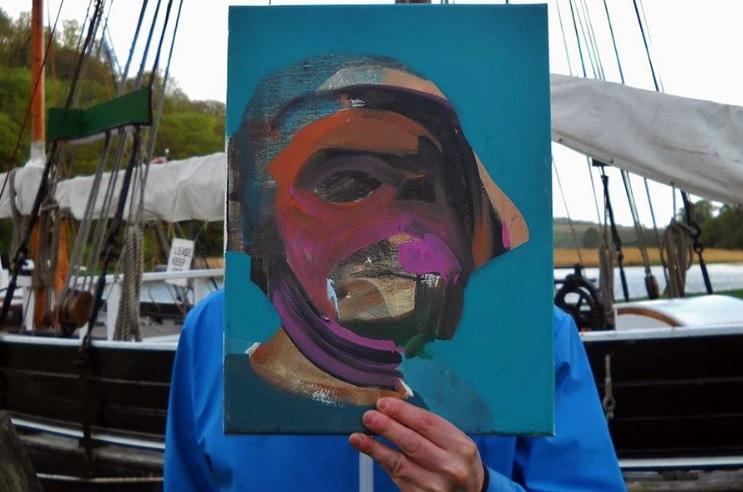 Zeigt nicht nur das Gesicht seiner Porträtierten nicht: Eric Haacht.