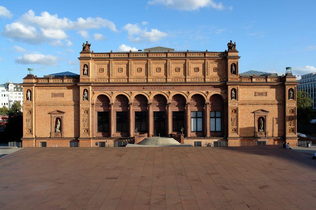 Gründungsbau, Blick von der Galerie der Gegenwart © Hamburger Kunsthalle Photo: Ralf Suerbaum