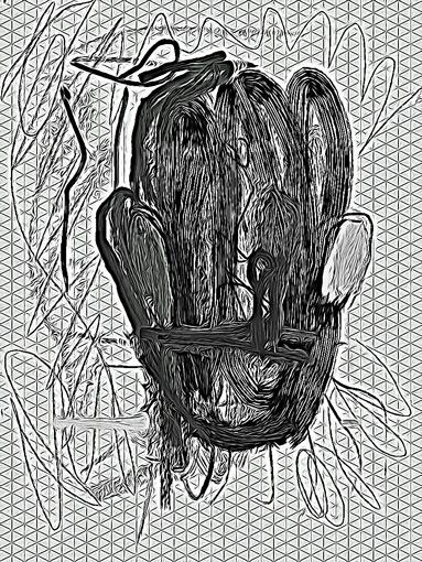 Bildunterschrift: Markus Oehlen, Courtesy Galerie Sima.