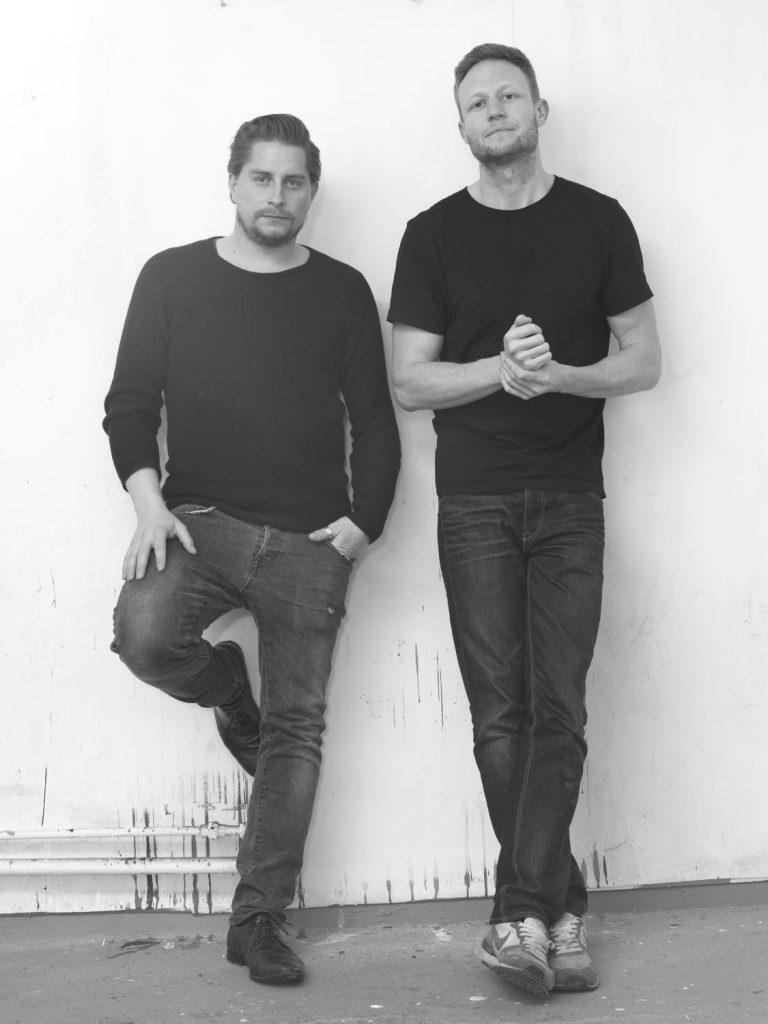 Lorenz Graf und Thomas Bestvina (r.) vom Kollektiv Arthohlstrasse