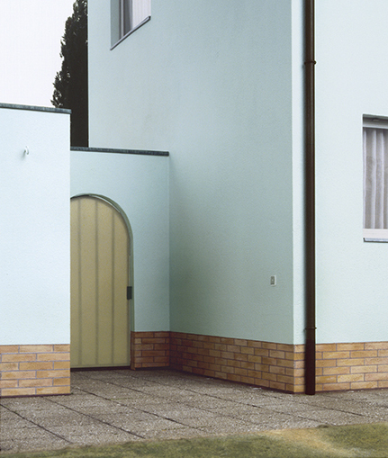 Oliver Boberg: Garteneingang, 2001, 94x83,5cm, Lambdaprint