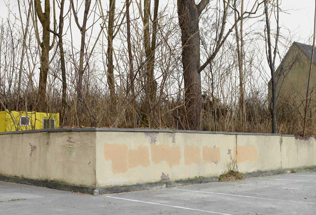 Oliver Boberg: Alte Mauer, 2012, 128x176cm, Lambdaprint