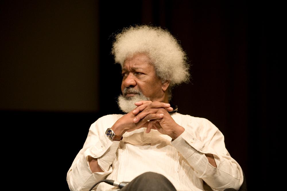 Wole Soyinka, 2009, Foto: Annette Hauschild.