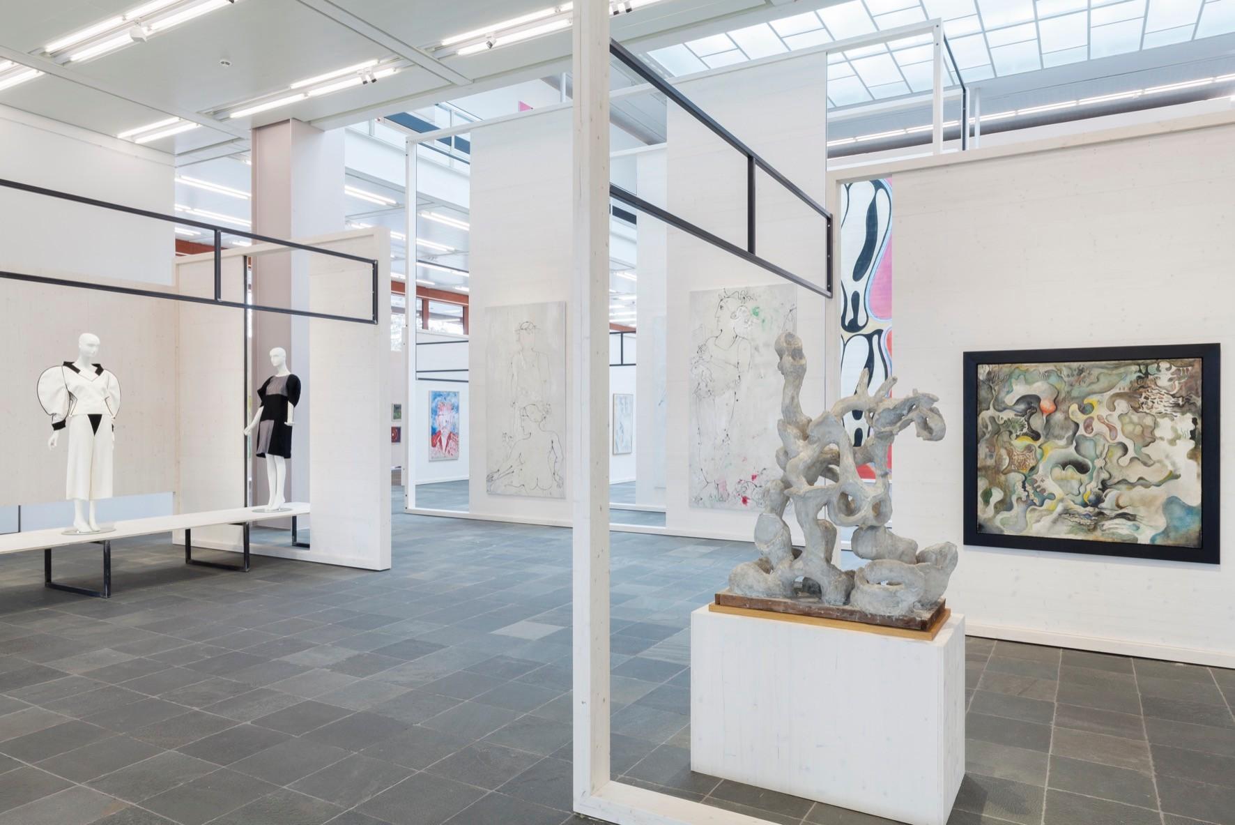 Ausstellungsansicht Oswald Oberhuber, 2016 Foto: © Belvedere, Wien.