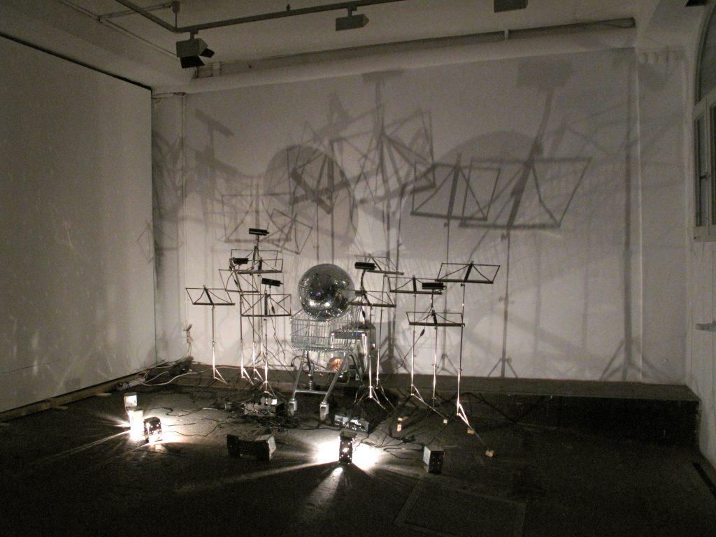 """Ausstellungsansicht """"Panmediale"""" 28. August – 1. September 2012"""