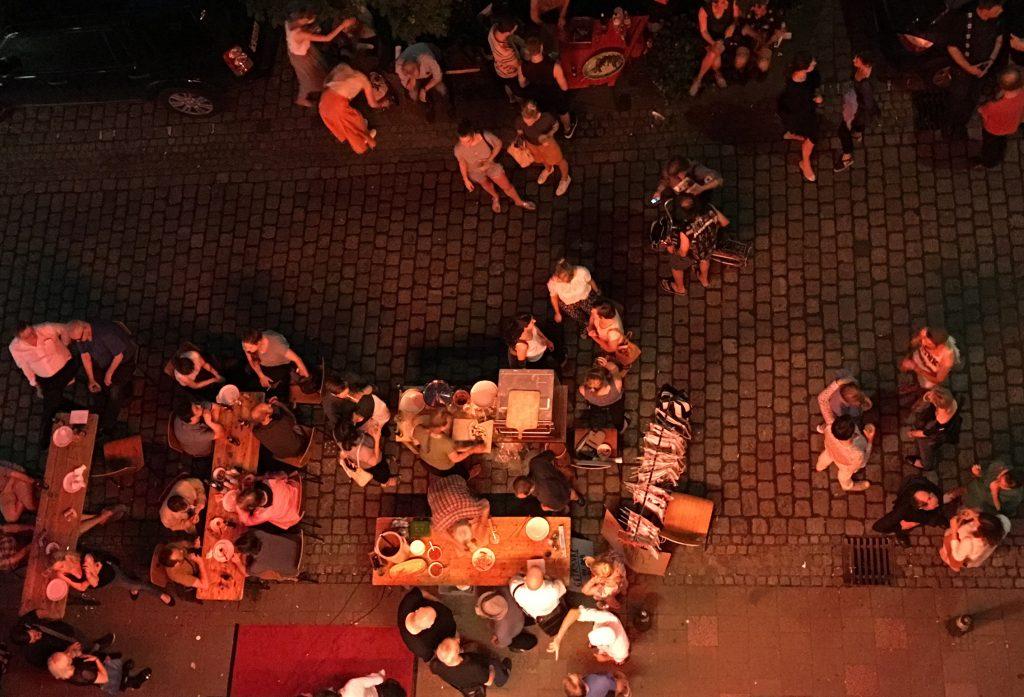 Sommerfest der Galerien auf der Fleetinsel, 2016