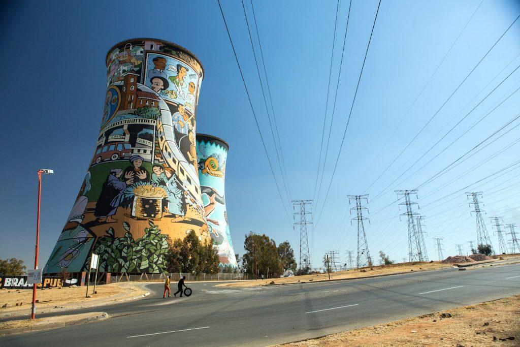 Orlando Towers Soweto © Anja Geirn