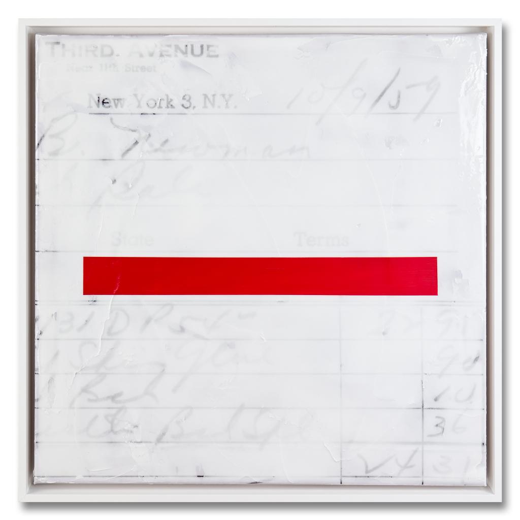 Caro Jost, Invoice Painting, Courtesy Caro Jost.