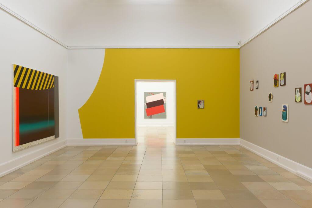 """Henirette Grahnert, """"Manchmal erscheinst du mir sehr abstrakt"""", Installationsansicht, 2016 © VG Bild-Kunst Bonn"""