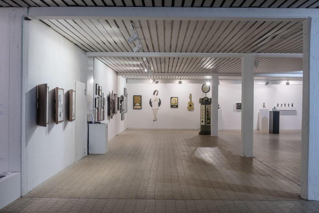 Ausstellungsansicht 142 Jahre Kunst, Affenfaust Galerie, Foto: heliumcowboy