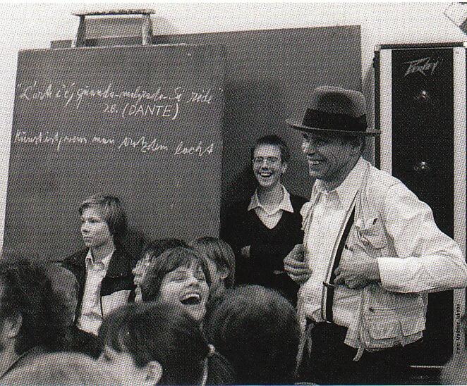 Joseph Beuys in Gelsenkirchen, 1977