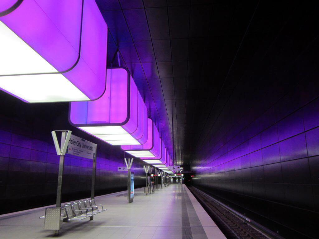 U-Bahnhof Hafencity Universität, Raupach Architekten, 2012
