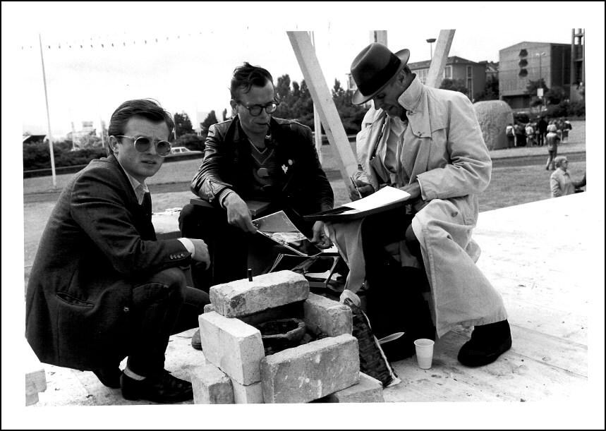 Siegfried Sander, Johannes Stüttgen und Joseph Beuys - documenta 7, 1982