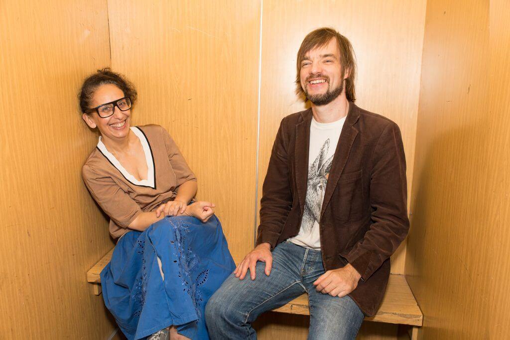 Marie-josé Ourtilane und Heiko Pfreundt, Künstlerische Leitung Project Space Festival, Foto: André Wunstorf