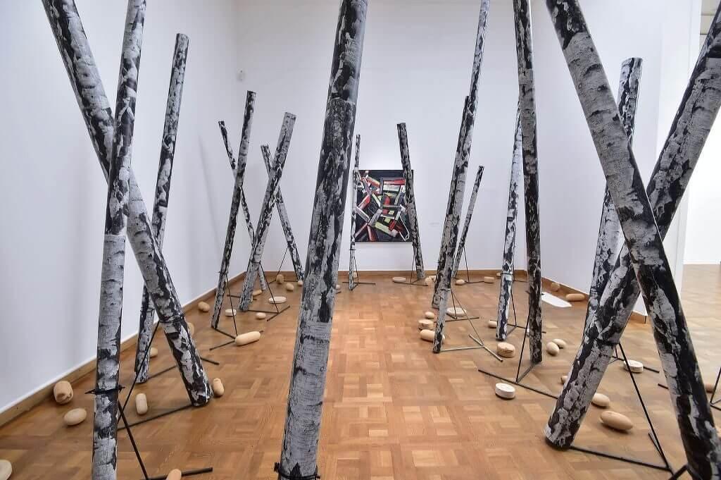 Ausstellungsansicht Martin Kippenberger, 2016 © leisure.at/Christian Jobst