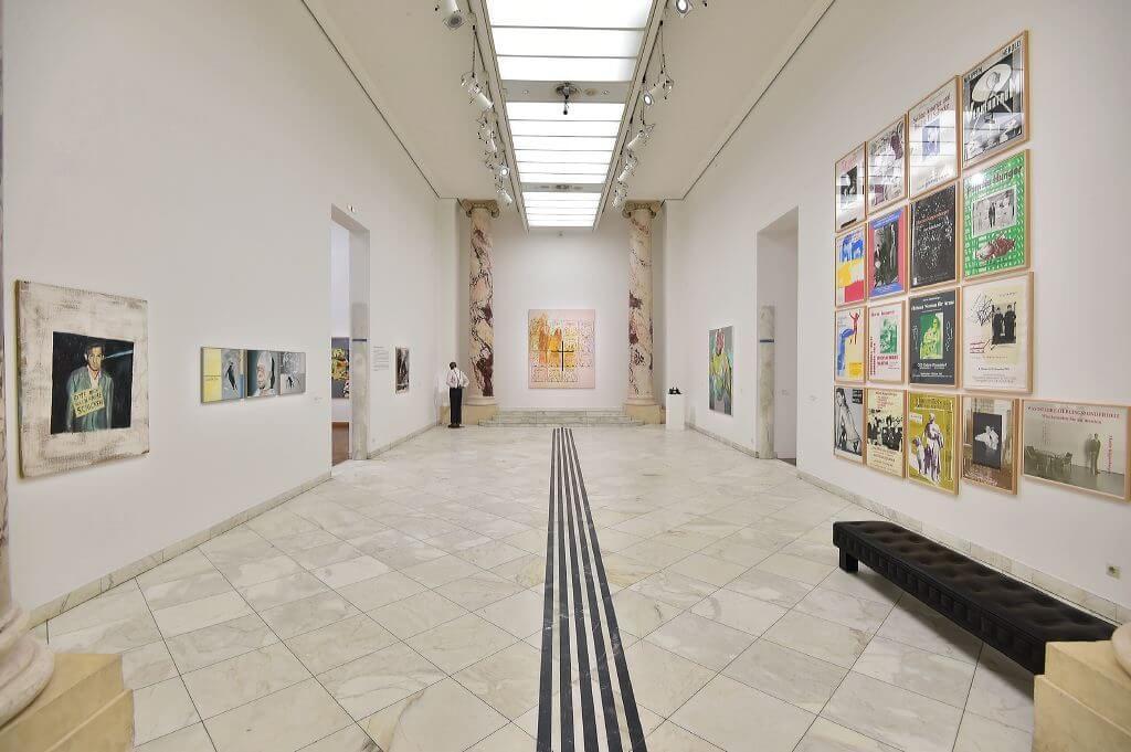 Ausstellungsansicht Martin Kippenberger, 2016 (© leisure.at/Christian Jobst)