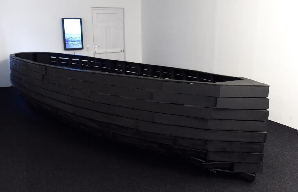 "Frank Balve: ""Menschenleer"", Installationsansicht. Foto: Felix Hörhager"