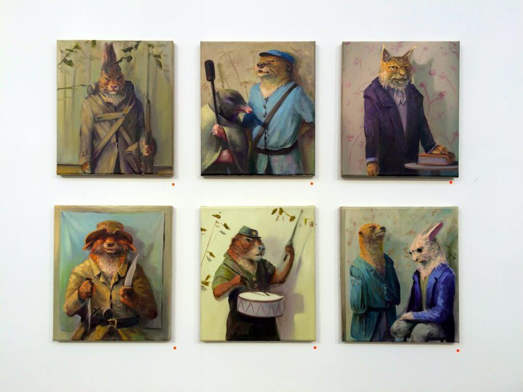 Sebastian Meschenmoser, Galerie Greulich, Foto: Eva Beck