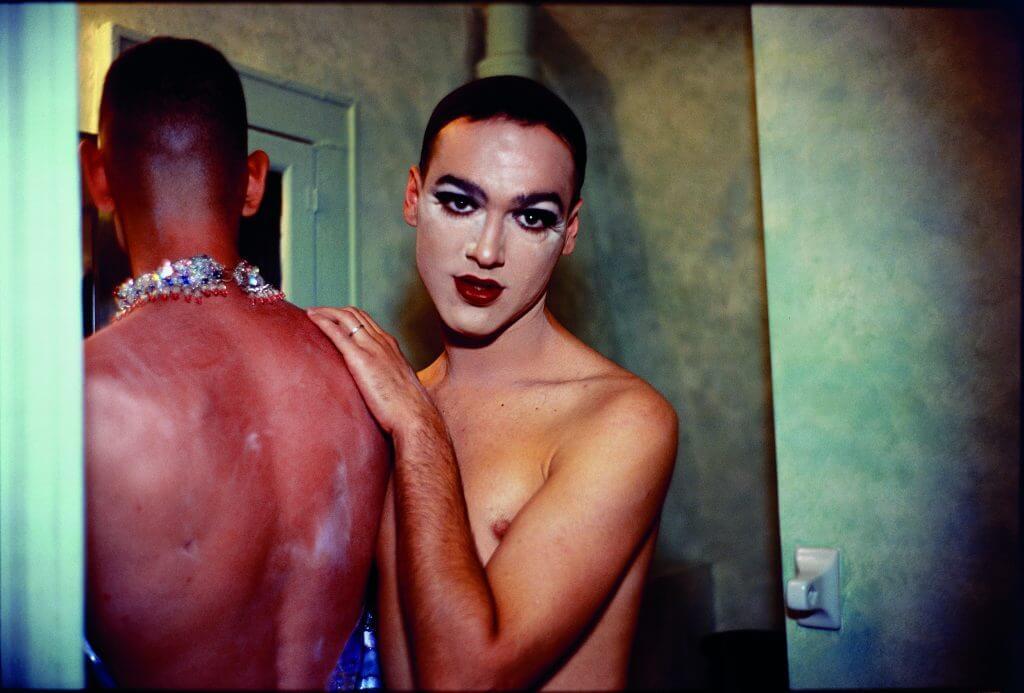 Nan Goldin: Jimmy Paulette + Tabboo! im Badezimmer, NYC 1991, Cibachrome, 75 x 101,5 cm Courtesy Sammlung Goetz, München.