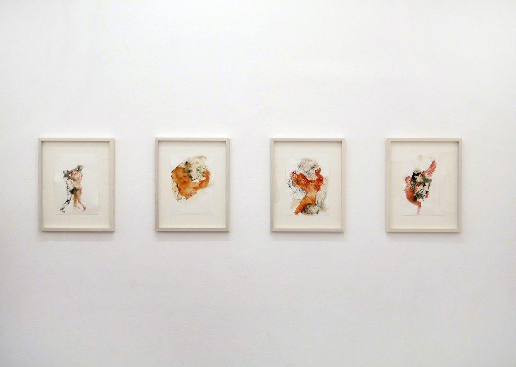 Ausstellungsansicht Rachel Kainy, Methamorphosis © Rosenfeld Gallery