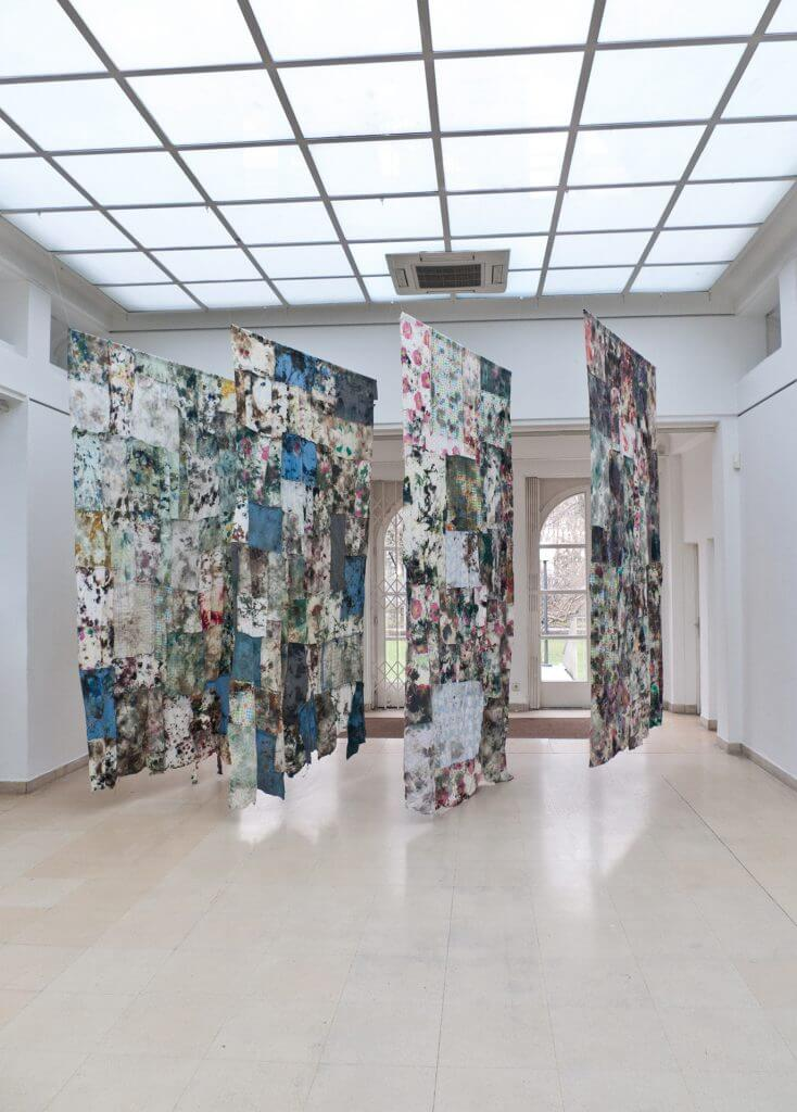 A history of painting 2008-2012, Installationsansicht Kunstpavillon Innsbruck © David Roth