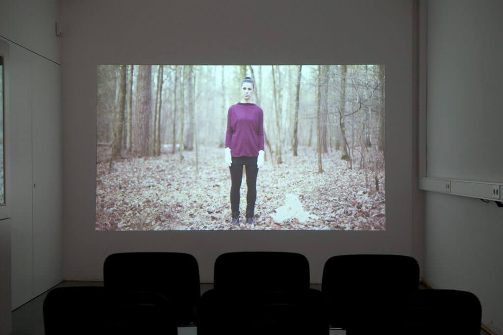 Carola Zechner, Installationsansicht der Absolventenausstellung 2016, Foto: Johannes Kersting