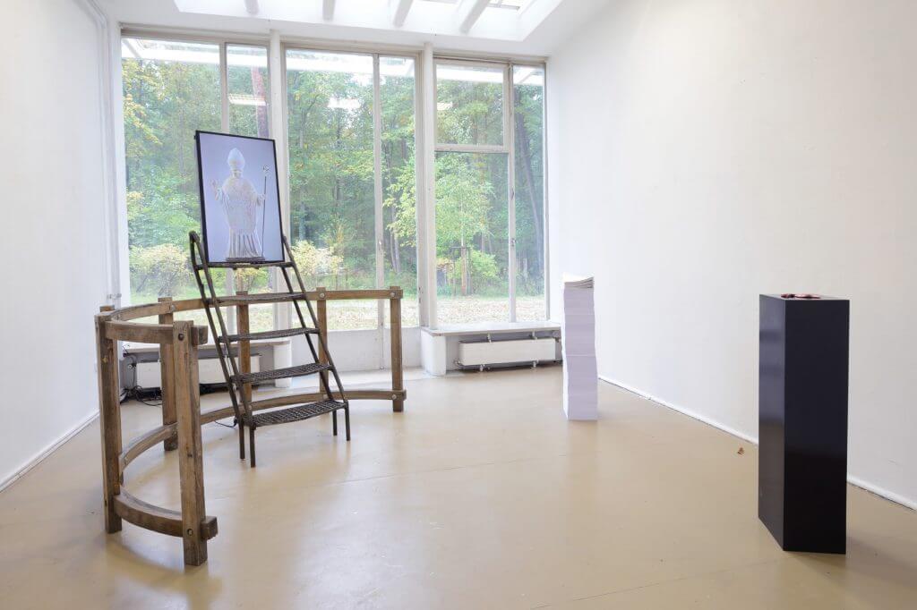 Gabriel Bethlen, Installationsansicht der Absolventenausstellung 2016, Foto: Johannes Kersting