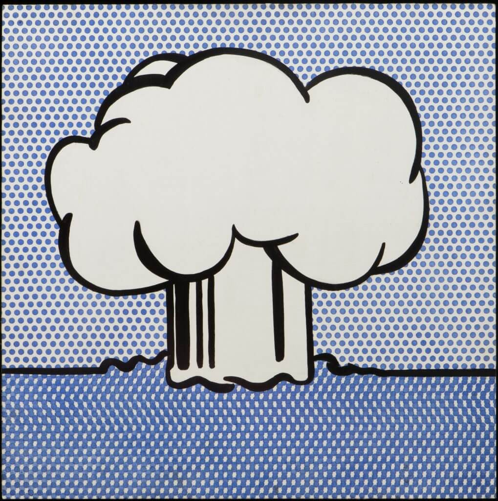 Roy Lichtenstein: Atmoic Burst, Roy Lichtenstein Atmoic Burst, 1965 Acrylic on board,© Modern Art Museum of Fort Worth.