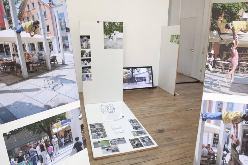 Vroni Hammerl, Installationsansicht der Absolventenausstellung 2016, Foto: Johannes Kersting