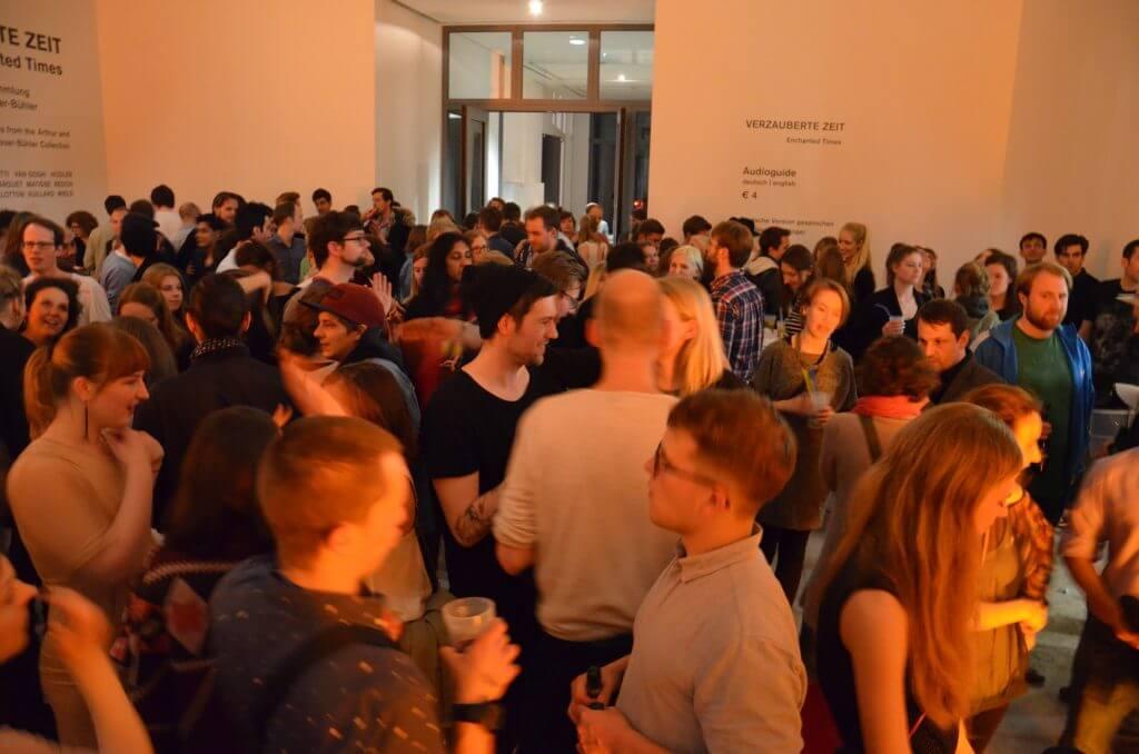 Junge Kunstnacht Foto: Sonja Büdicker